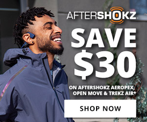Save $30 on Select Aftershokz