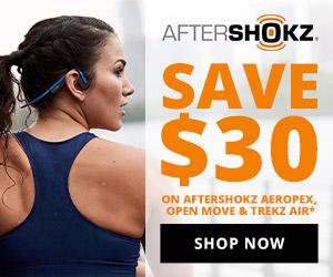 Save $30 on select Aftershokz