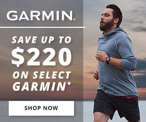 Save on select Garmin