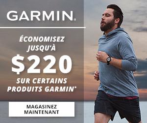 Économisez sur certains produits Garmin